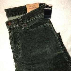 Men's Hollister Corduroy Jeans !!NWT!!